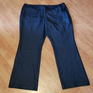Worthington modern fit charcoal trouser dress pant